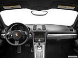 2014 Porsche Cayman Dashboard, center console, gear shifter view