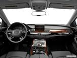 2014 Audi A8 Dashboard, center console, gear shifter view photo