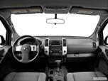 2014 Nissan Xterra Dashboard, center console, gear shifter view photo