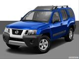 2014 Nissan Xterra Front angle view photo