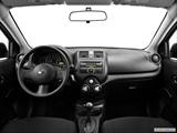 2014 Nissan Versa Dashboard, center console, gear shifter view