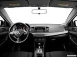 2014 Mitsubishi Lancer Dashboard, center console, gear shifter view photo