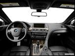 2014 BMW 6 Series Dashboard, center console, gear shifter view photo