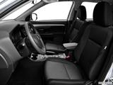 2014 Mitsubishi Outlander Front seats from Drivers Side