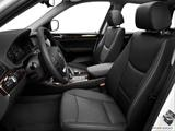 2014 BMW X3 Front seats from Drivers Side