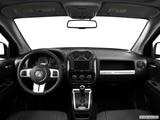 2014 Jeep Compass Dashboard, center console, gear shifter view