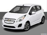 2014 Chevrolet Spark EV Front angle view photo