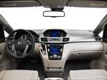 2015 Honda Odyssey Dashboard, center console, gear shifter view photo