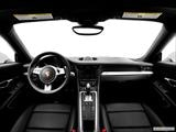 2014 Porsche 911 Dashboard, center console, gear shifter view