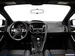 2014 Ford Focus ST Dashboard, center console, gear shifter view photo