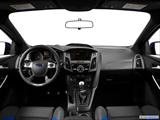 2014 Ford Focus ST Dashboard, center console, gear shifter view