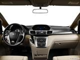 2014 Honda Odyssey Dashboard, center console, gear shifter view