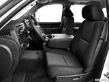 2014 Chevrolet Silverado 2500 HD Crew Cab Front seats from Drivers Side