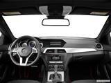 2014 Mercedes-Benz C-Class Dashboard, center console, gear shifter view