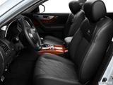 2014 Infiniti QX70 Front seats from Drivers Side