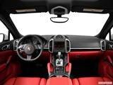 2014 Porsche Cayenne Dashboard, center console, gear shifter view