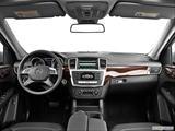 2014 Mercedes-Benz M-Class Dashboard, center console, gear shifter view