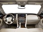 2014 Infiniti QX80 Dashboard, center console, gear shifter view photo