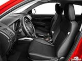 2014 Mitsubishi Outlander Sport Front seats from Drivers Side