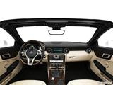 2014 Mercedes-Benz SLK-Class Dashboard, center console, gear shifter view
