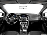 2014 Ford Focus Dashboard, center console, gear shifter view