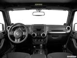 2014 Jeep Wrangler Dashboard, center console, gear shifter view