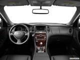 2014 Infiniti QX50 Dashboard, center console, gear shifter view