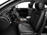 2014 Audi A6 Front seats from Drivers Side