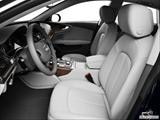 2014 Audi A7 Front seats from Drivers Side