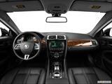 2014 Jaguar XK Series Dashboard, center console, gear shifter view