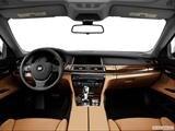 2014 BMW 7 Series Dashboard, center console, gear shifter view
