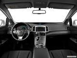 2014 Toyota Venza Dashboard, center console, gear shifter view
