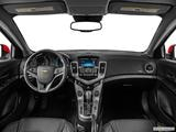 2014 Chevrolet Cruze Dashboard, center console, gear shifter view