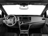 2014 Toyota Sienna Dashboard, center console, gear shifter view