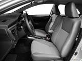 2014 Toyota Corolla Front seats from Drivers Side