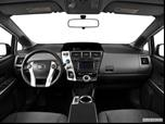 2014 Toyota Prius v Dashboard, center console, gear shifter view photo