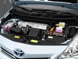2014 Toyota Prius v Engine photo