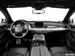 2014 Audi S8 Dashboard, center console, gear shifter view photo