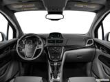 2014 Buick Encore Dashboard, center console, gear shifter view
