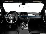 2014 BMW 3 Series Dashboard, center console, gear shifter view