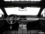 2014 BMW 5 Series Dashboard, center console, gear shifter view photo