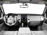 2014 Ford Expedition EL Dashboard, center console, gear shifter view