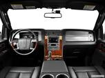 2014 Lincoln Navigator Dashboard, center console, gear shifter view photo