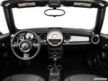 2014 MINI Cooper Convertible Dashboard, center console, gear shifter view photo