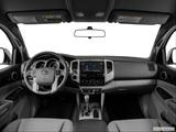 2014 Toyota Tacoma Double Cab Dashboard, center console, gear shifter view