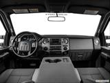 2014 Ford F450 Super Duty Crew Cab Dashboard, center console, gear shifter view