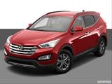 2014 Hyundai Santa Fe Sport Front angle view photo