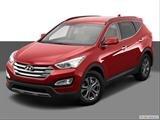 2014 Hyundai Santa Fe Sport Front angle view photo