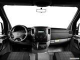 2014 Mercedes-Benz Sprinter 2500 Passenger Dashboard, center console, gear shifter view