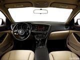 2014 Kia Optima Dashboard, center console, gear shifter view